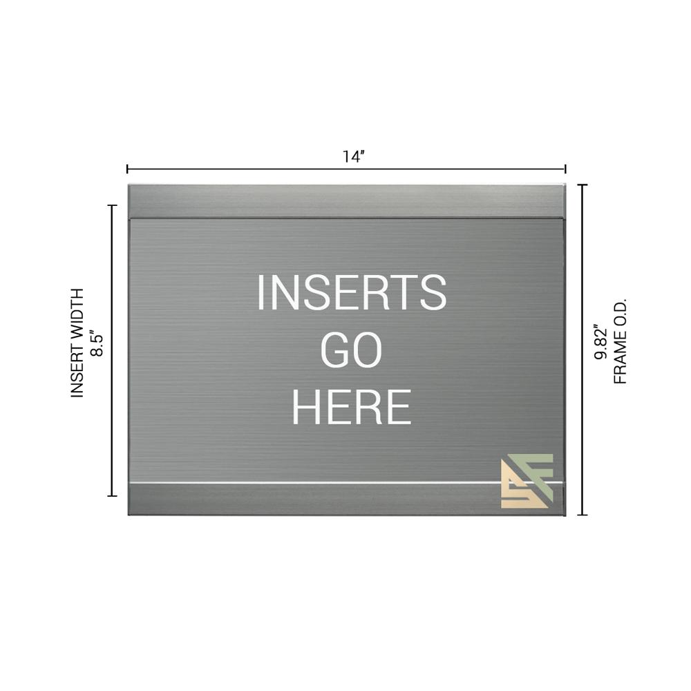 """Office Sign - 10""""H x 14""""W - WFFL77"""