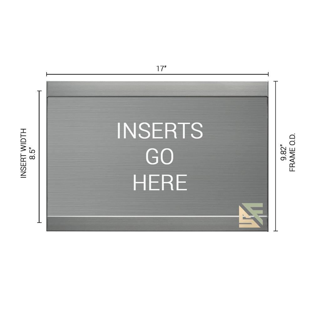 """Office Sign - 10""""H x 17""""W - WFFL78"""