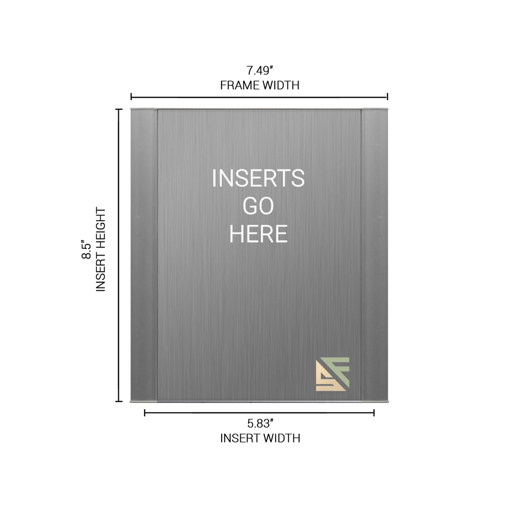 """Office Sign - 8.5""""H x 7.5""""W - WFFP154"""