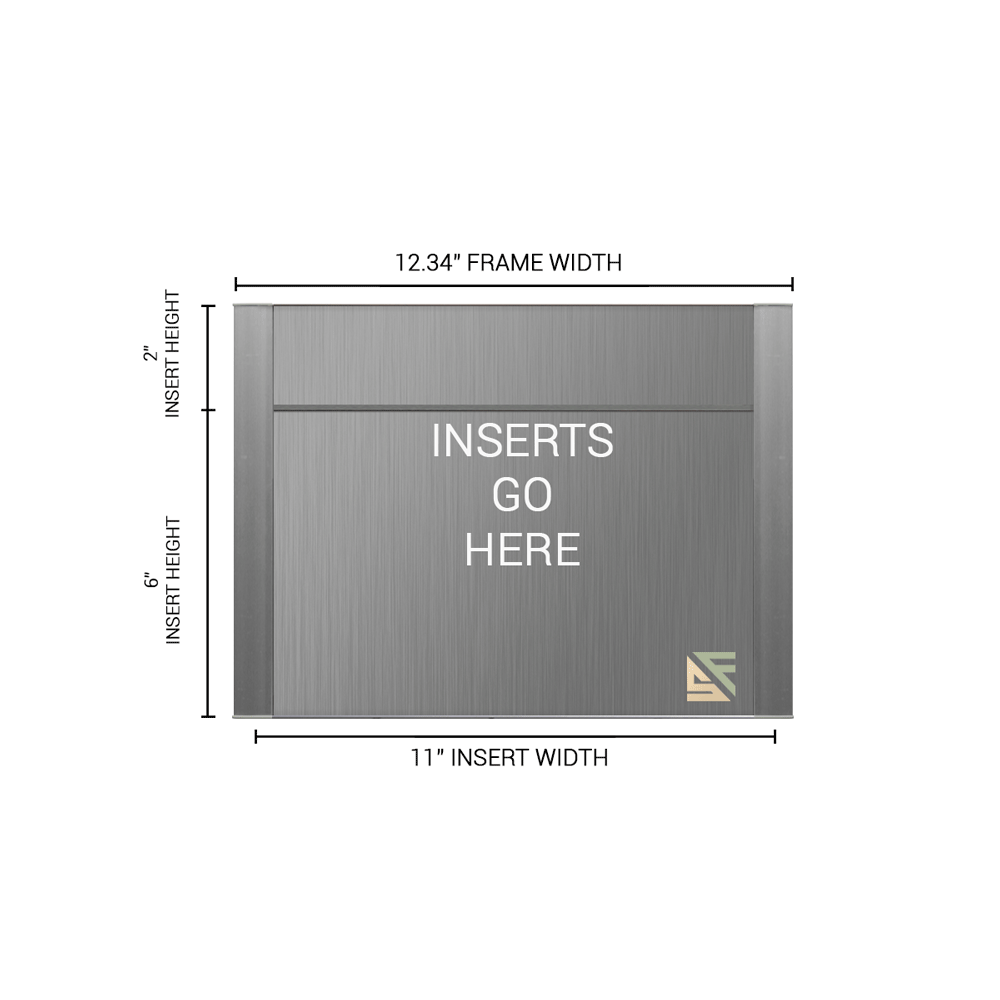 """Office Sign - 8""""H x 12.25""""W (2"""" Top) - WFFP161"""