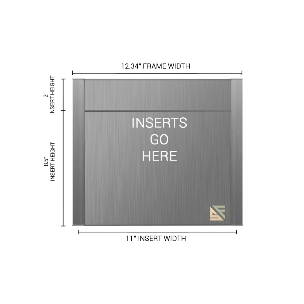 """Office Sign - 10.5""""H x 12.25""""W (2"""" Top) - WFFP163"""