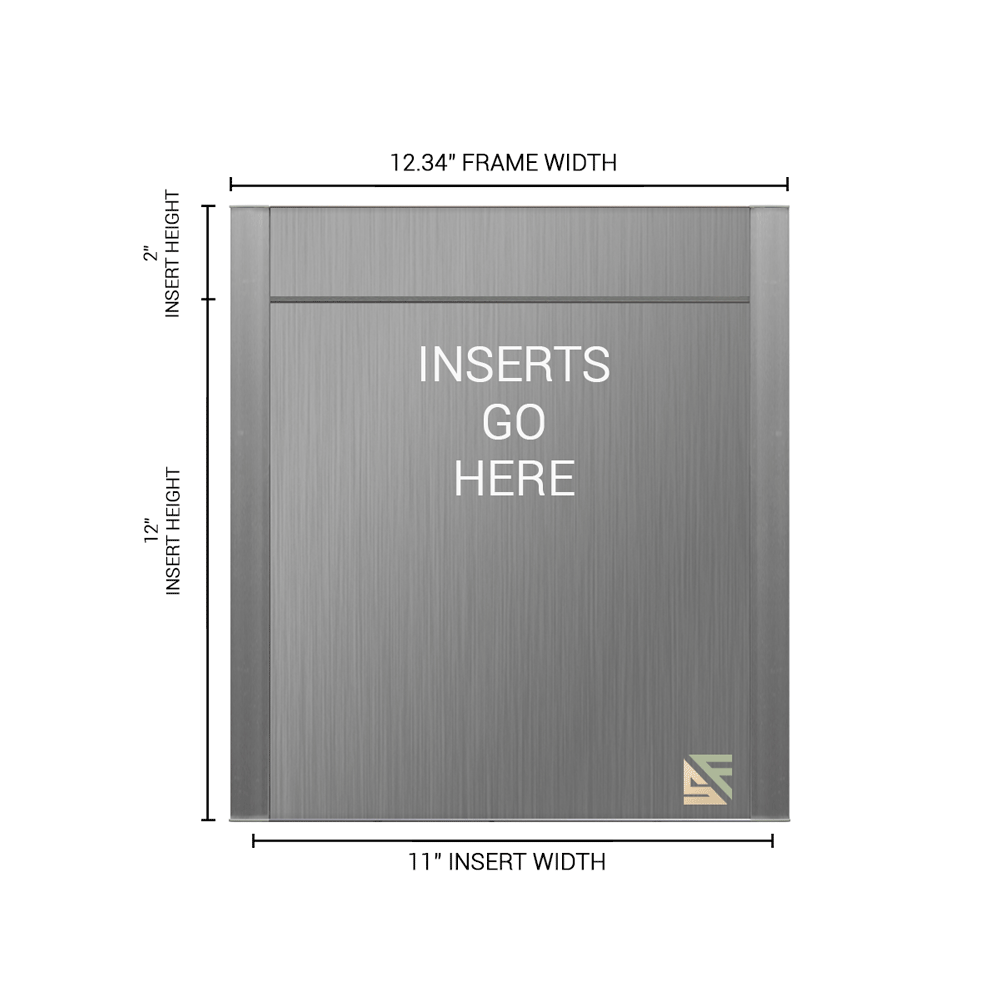 """Office Sign - 14""""H x 12.25""""W (2"""" Top) - WFFP167"""