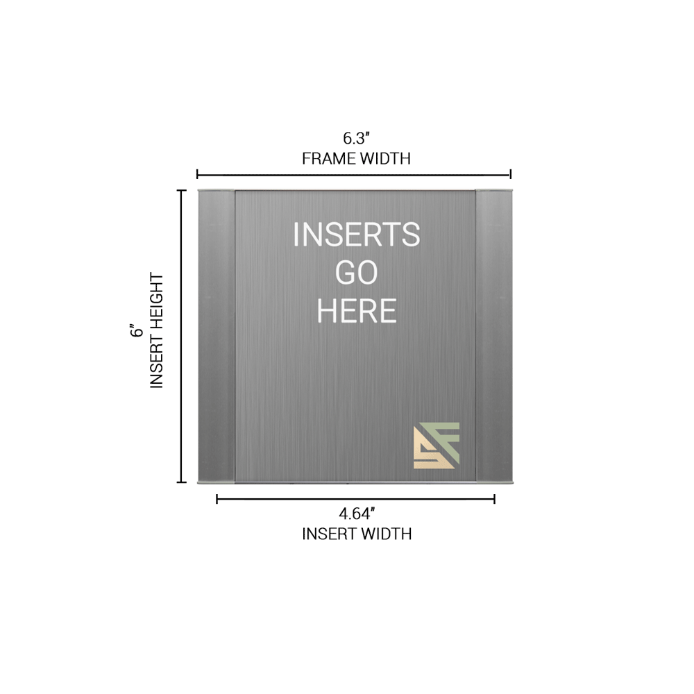"""Office Sign - 6""""H x 6.25""""W - WFFP16"""