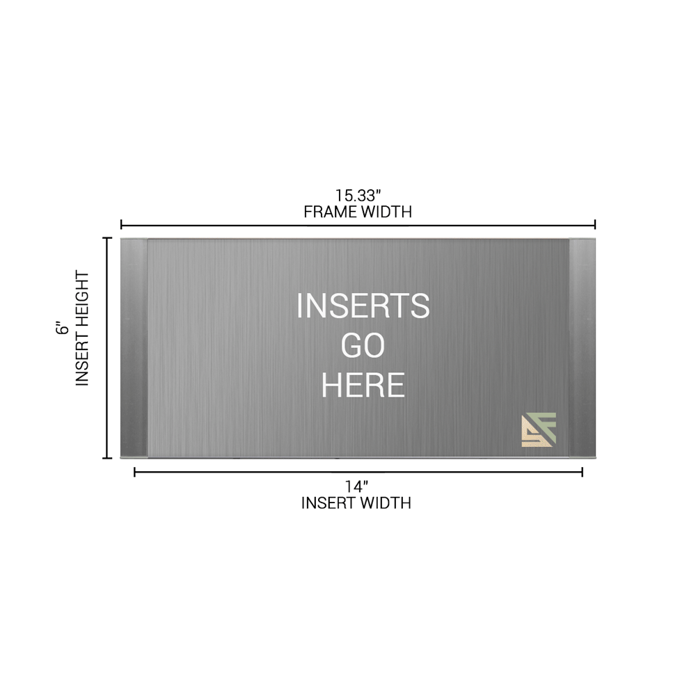 """Office Sign - 6""""H x 15.25""""W - WFFP171"""