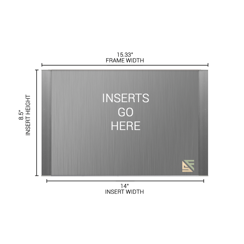 """Office Sign - 8.5""""H x 15.25""""W - WFFP172"""