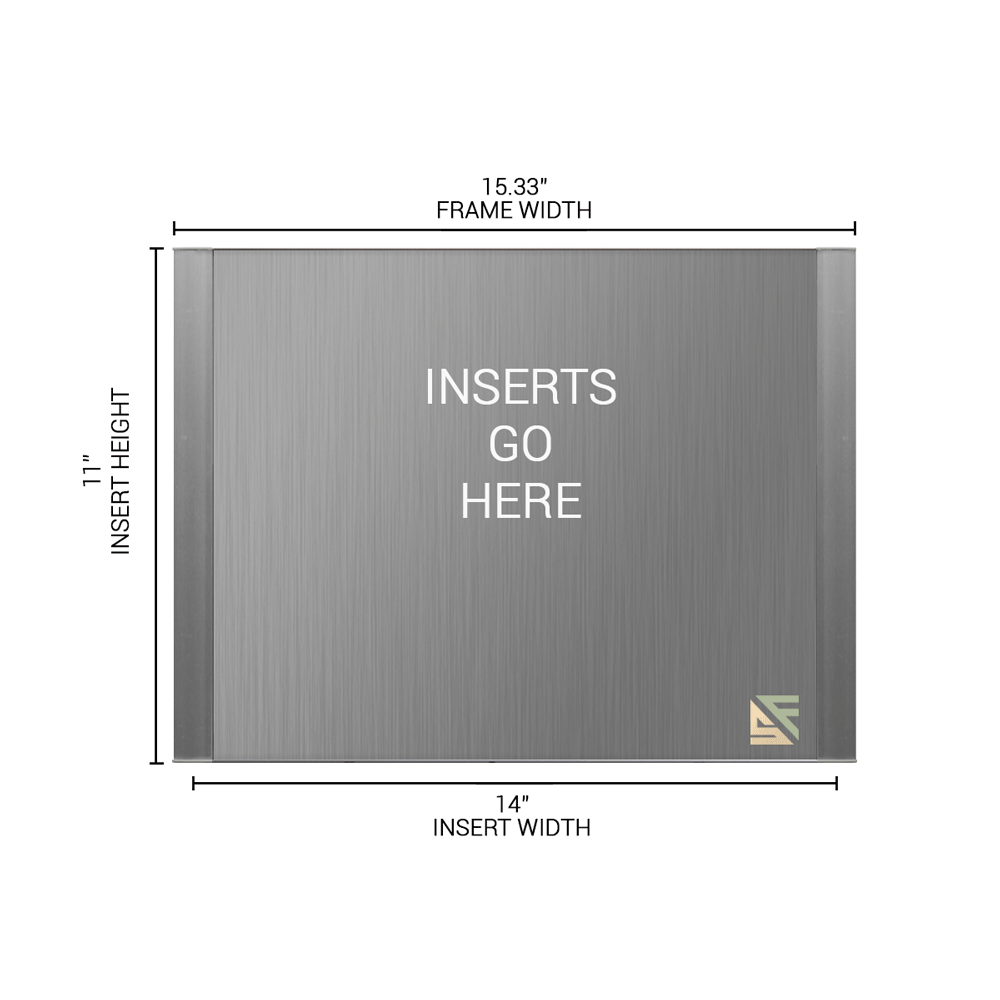 """Office Sign - 11""""H x 15.25""""W - WFFP173"""