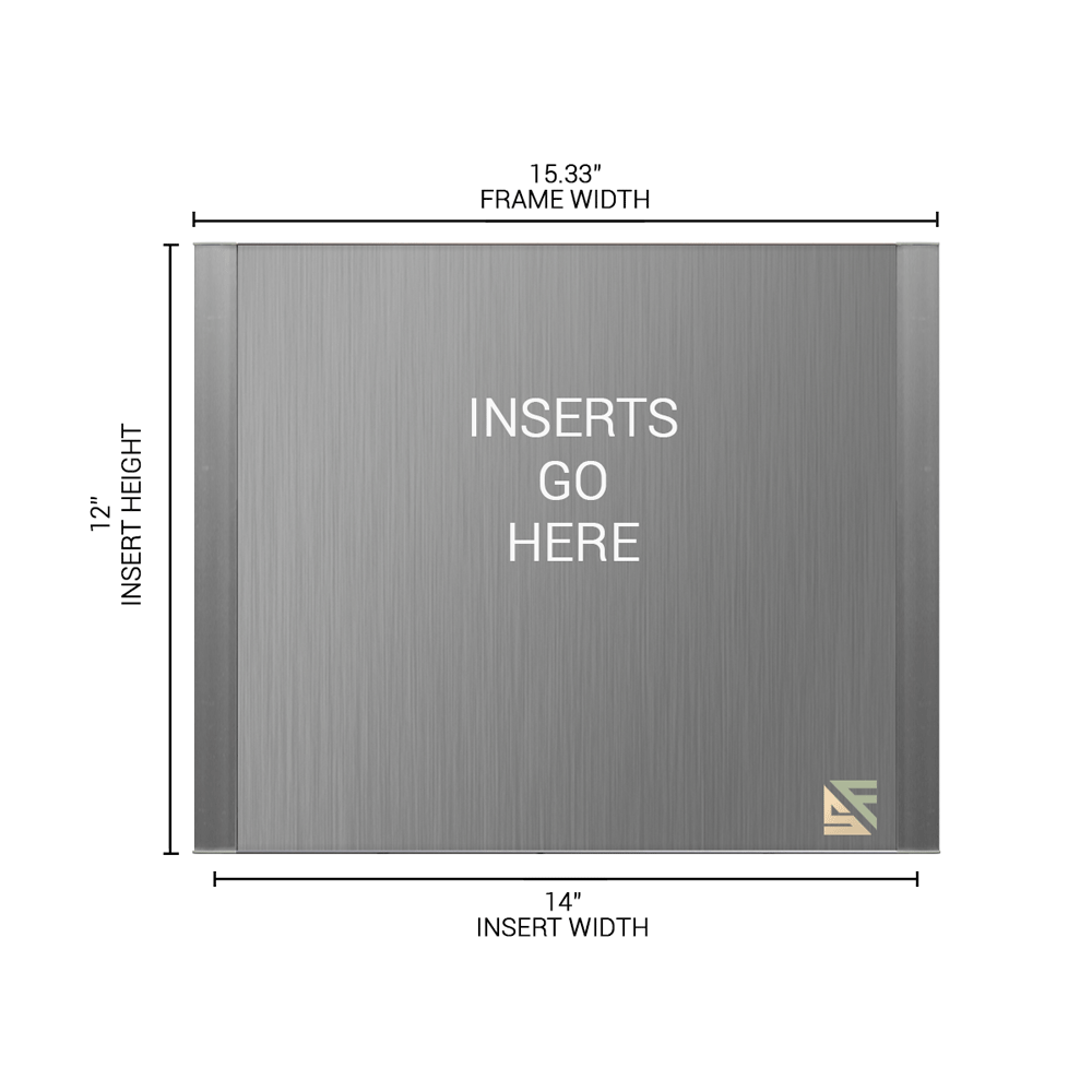 """Office Sign - 12""""H x 15.25""""W - WFFP174"""