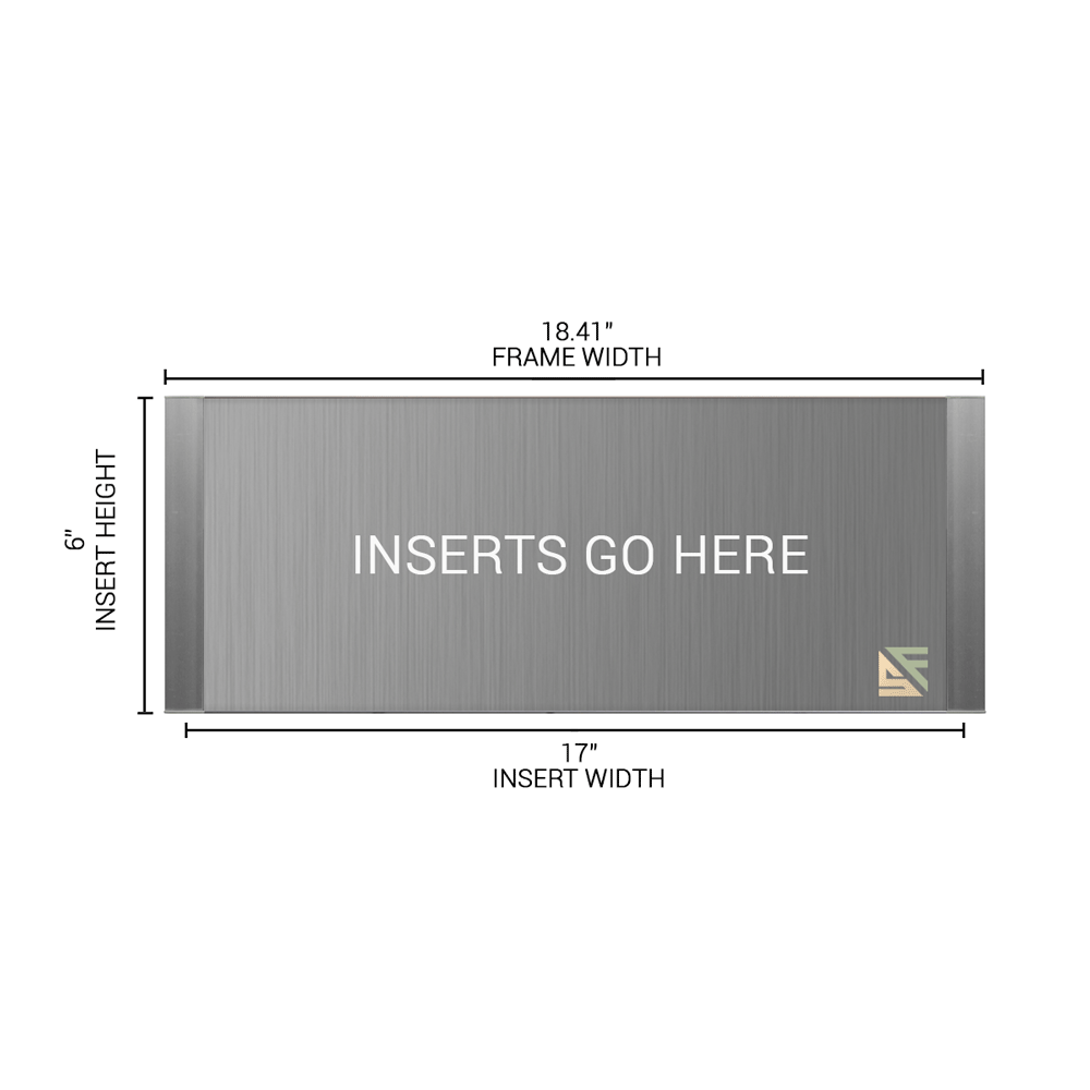 """Office Sign - 6""""H x 18.5""""W - WFFP185"""