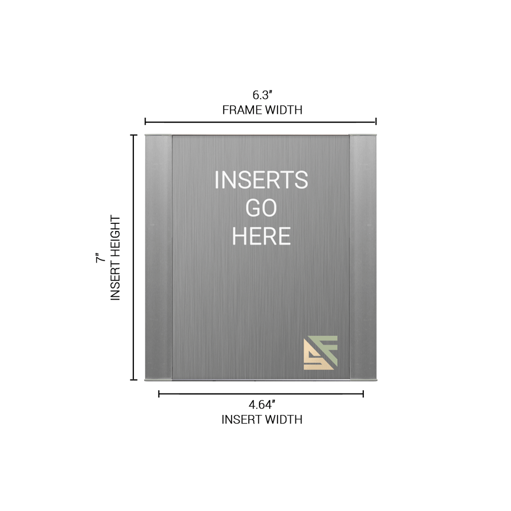 """Office Sign - 7""""H x 6.25""""W - WFFP18"""