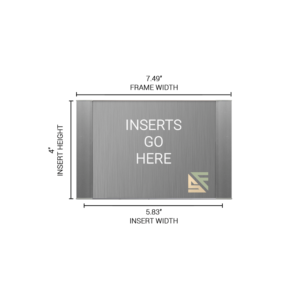 """Office Sign - 4""""H x 7.5""""W - WFFP25"""