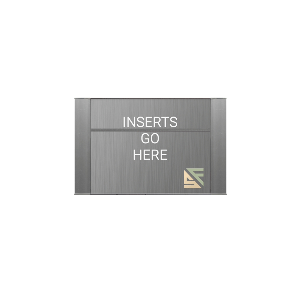 """Office Sign - 4""""H x 7.5""""W (1""""Top) - WFFP26"""