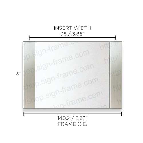 """Office Sign - 3""""H x 5.5""""W - WFFP2"""