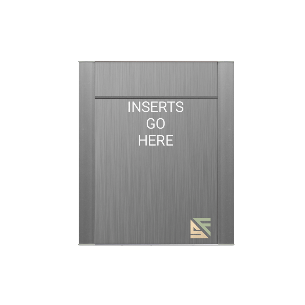 """Office Sign - 9""""H x 7.5""""W (2"""" Top) - WFFP36"""