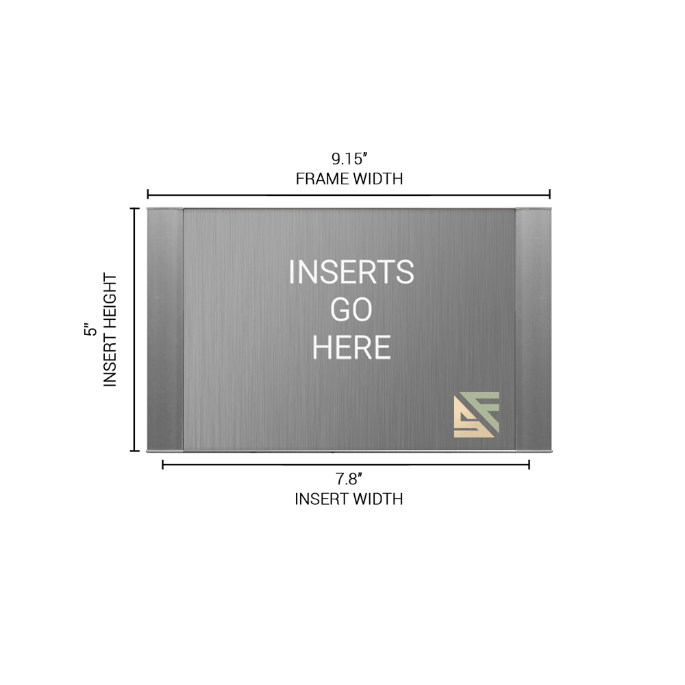 """Office Sign - 5""""H x 9""""W - WFFP42"""
