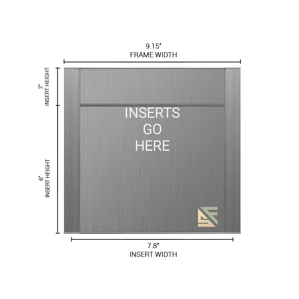 """Office Sign - 8""""H x 9""""W (2"""" Top) - WFFP47"""
