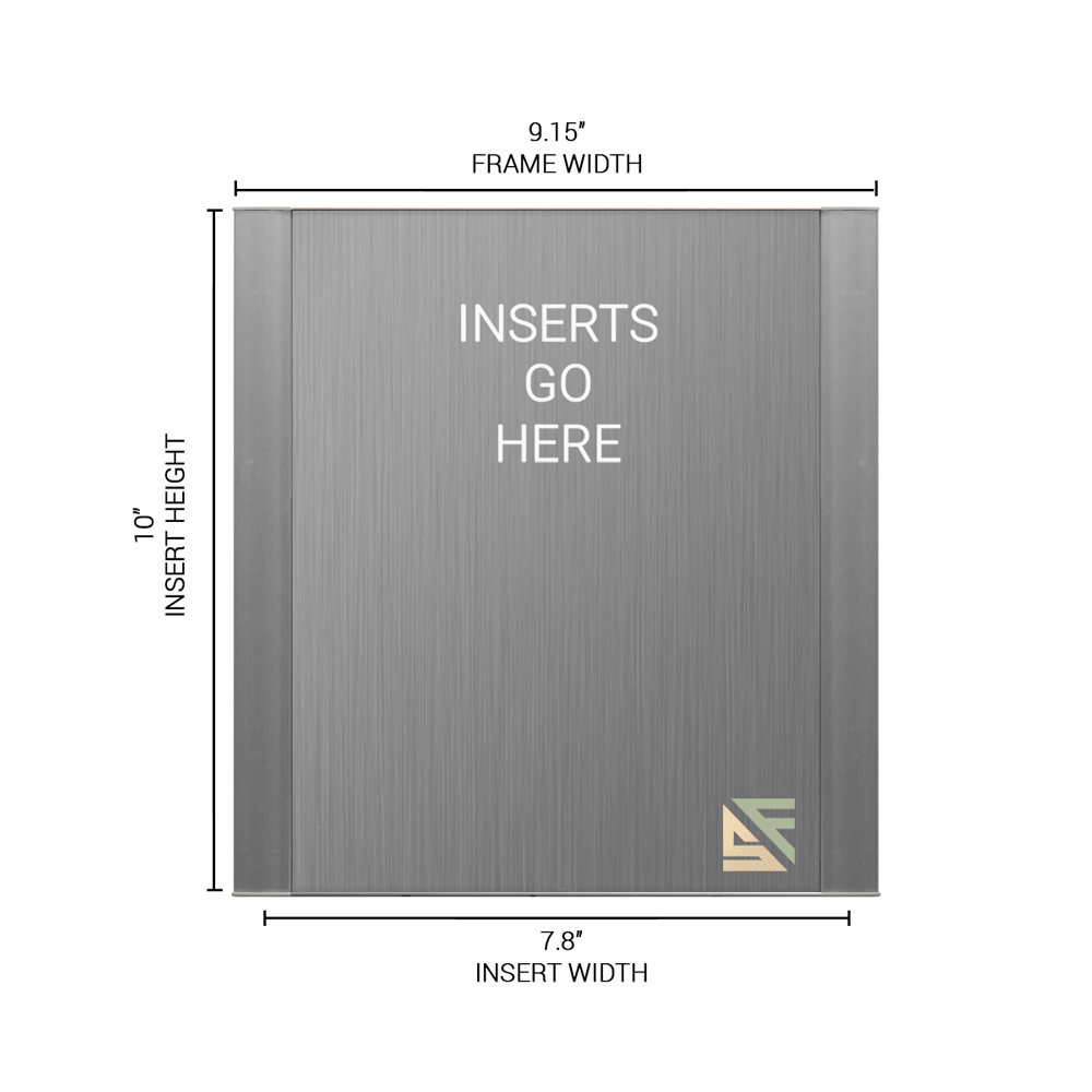 """Office Sign - 10""""H x 9""""W - WFFP48"""