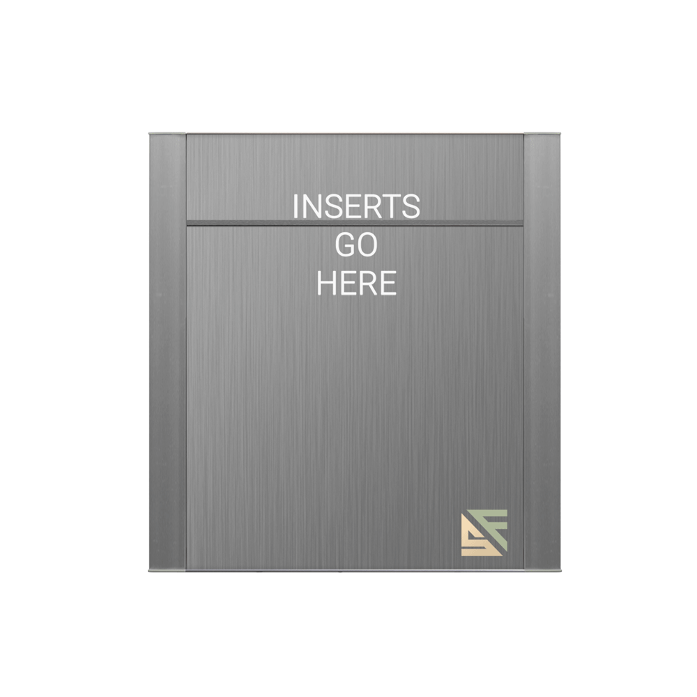 """Office Sign - 10""""H x 9""""W (2"""" Top) - WFFP49"""
