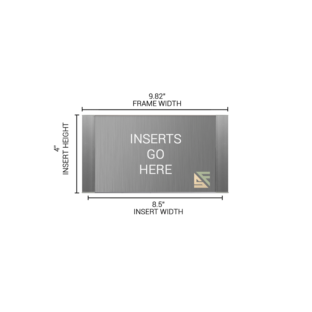 """Office Sign - 4""""H x 10""""W - WFFP74"""