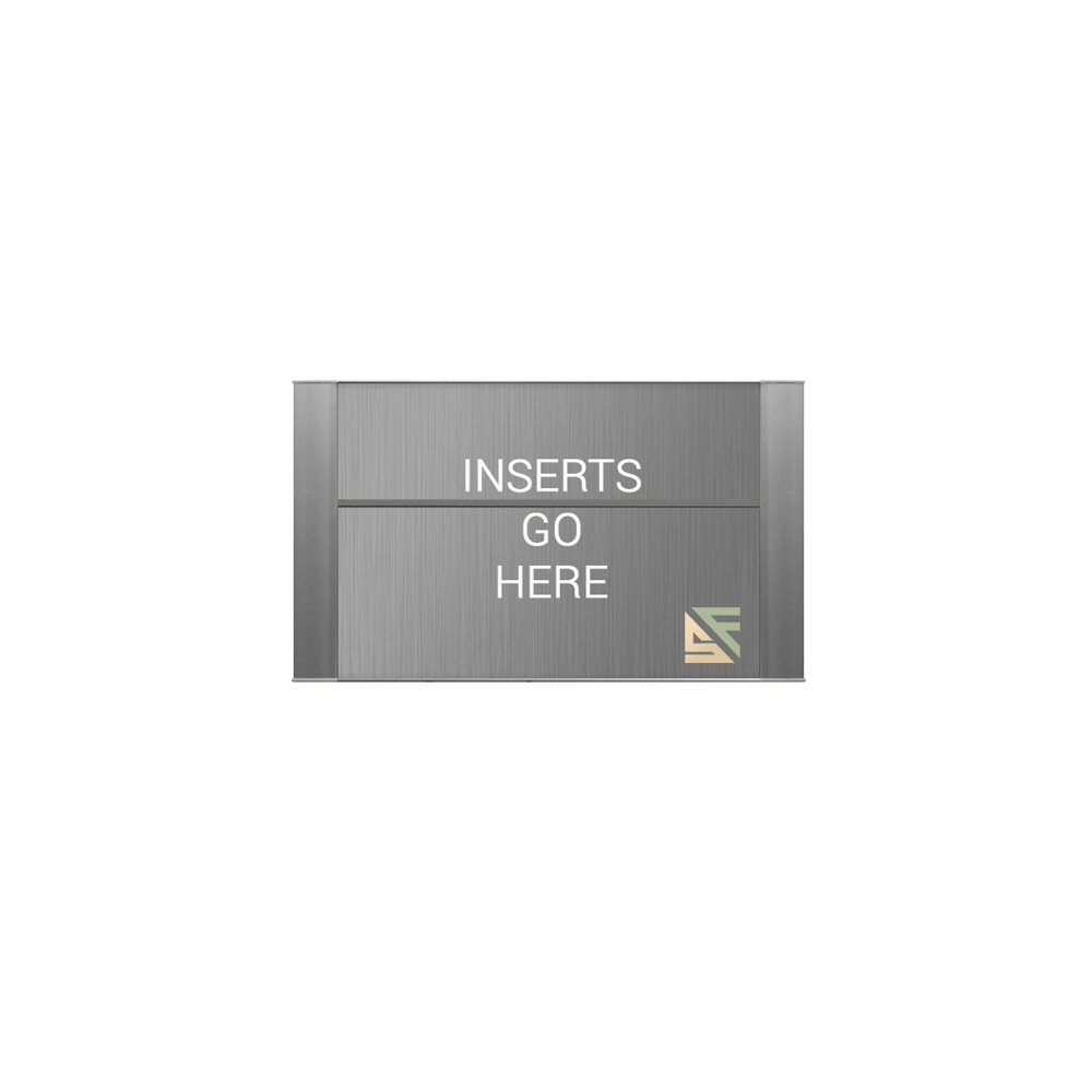 """Office Sign - 5""""H x 10""""W (2"""" Top) - WFFP77"""