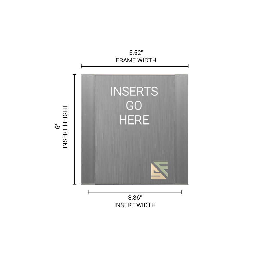"""Office Sign - 6""""H x 5.5""""W - WFFP7"""