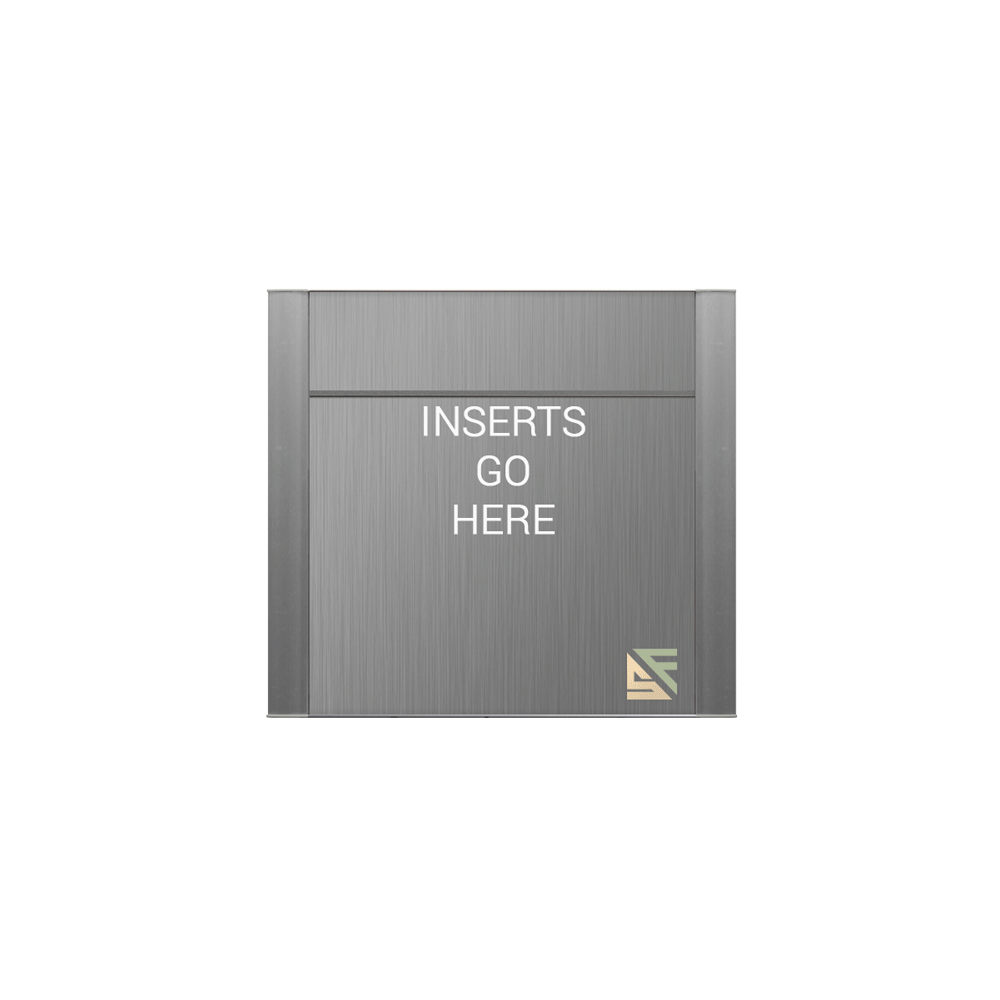 """Office Sign - 8""""H x 10""""W (2"""" Top) - WFFP81"""