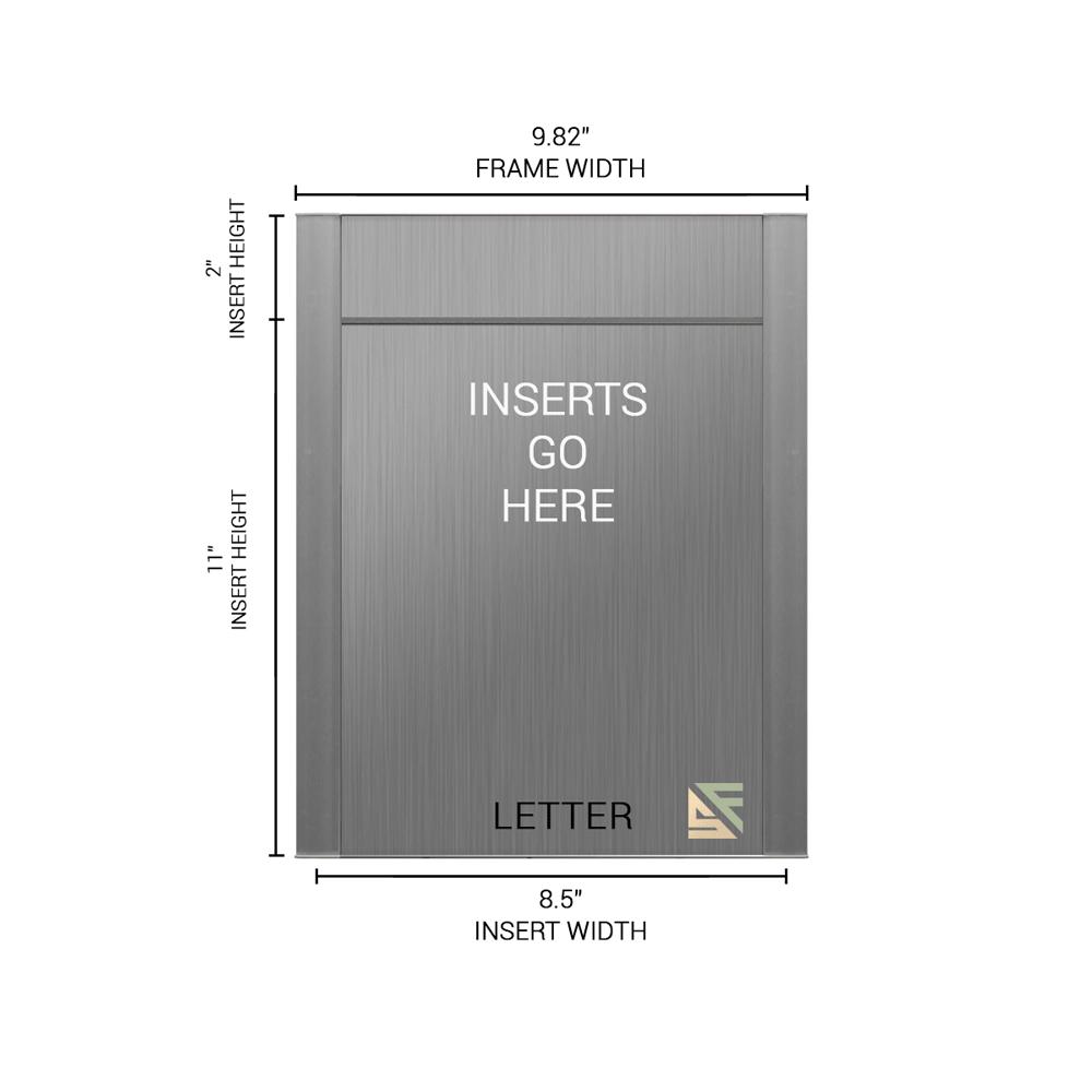 """Conference Room & Slider Sign - 13""""H x 10""""W - FLTRX13"""