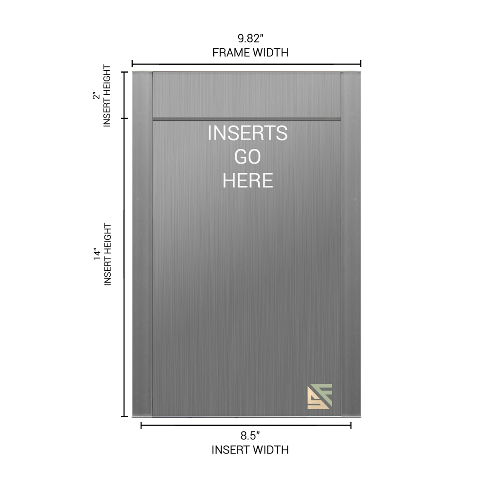 """Office Sign - 16""""H x 10""""W (2"""" Top) - WFFP89"""