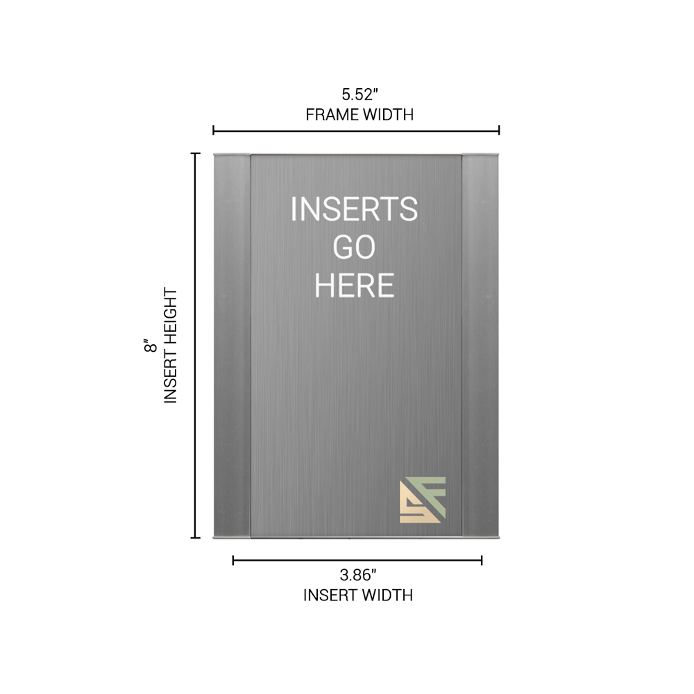 """Office Sign - 8""""H x 5.5""""W - WFFP9"""