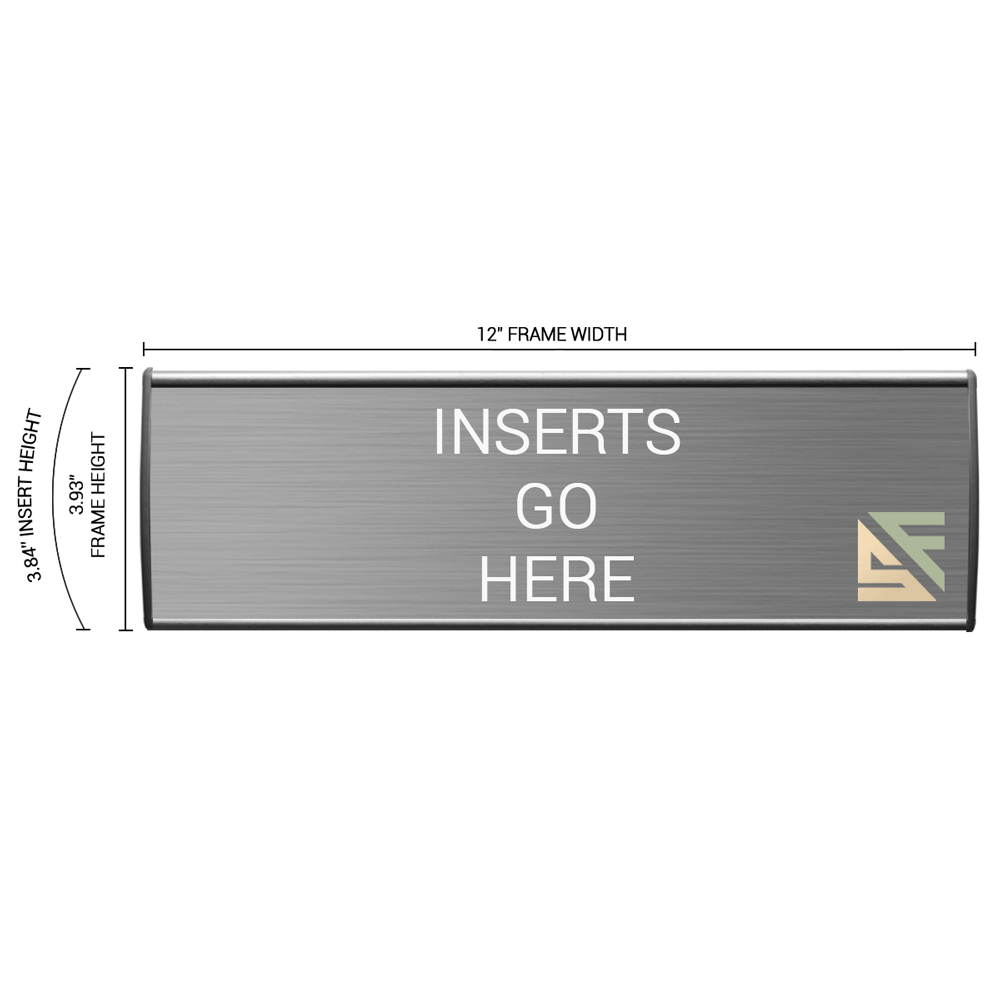 """Office Sign - 4""""H x 12""""W - WFL19"""