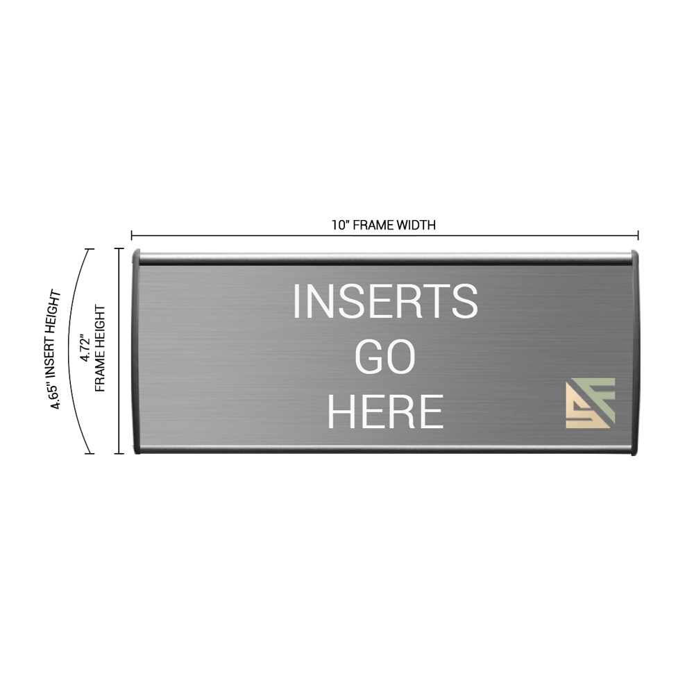"""Office Sign - 5""""H x 10""""W - WFL25"""