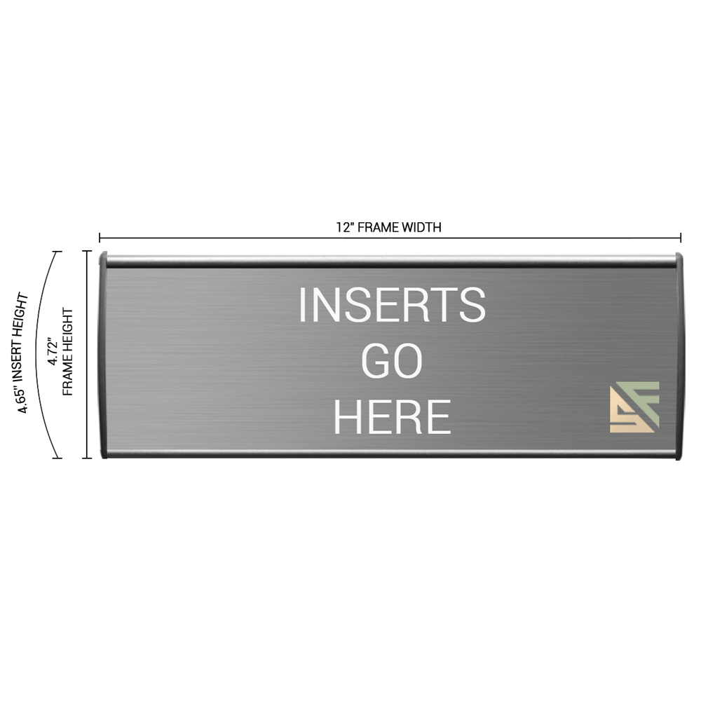 """Office Sign - 5""""H x 12""""W - WFL26"""