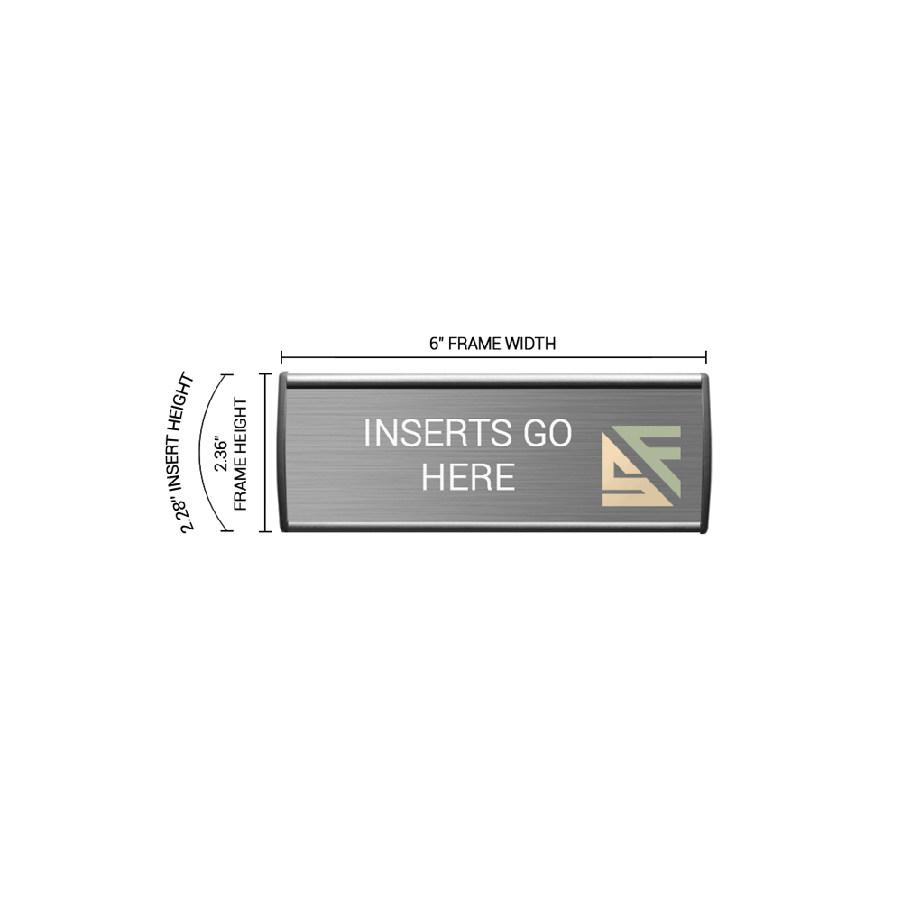 """Office Sign - 2.25""""H x 6""""W - WFL2"""