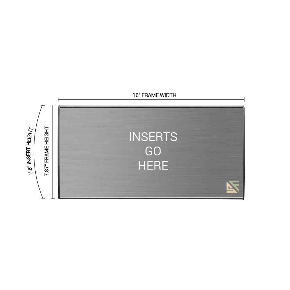 """Office Sign - 8""""H x 16""""W - WFL39"""