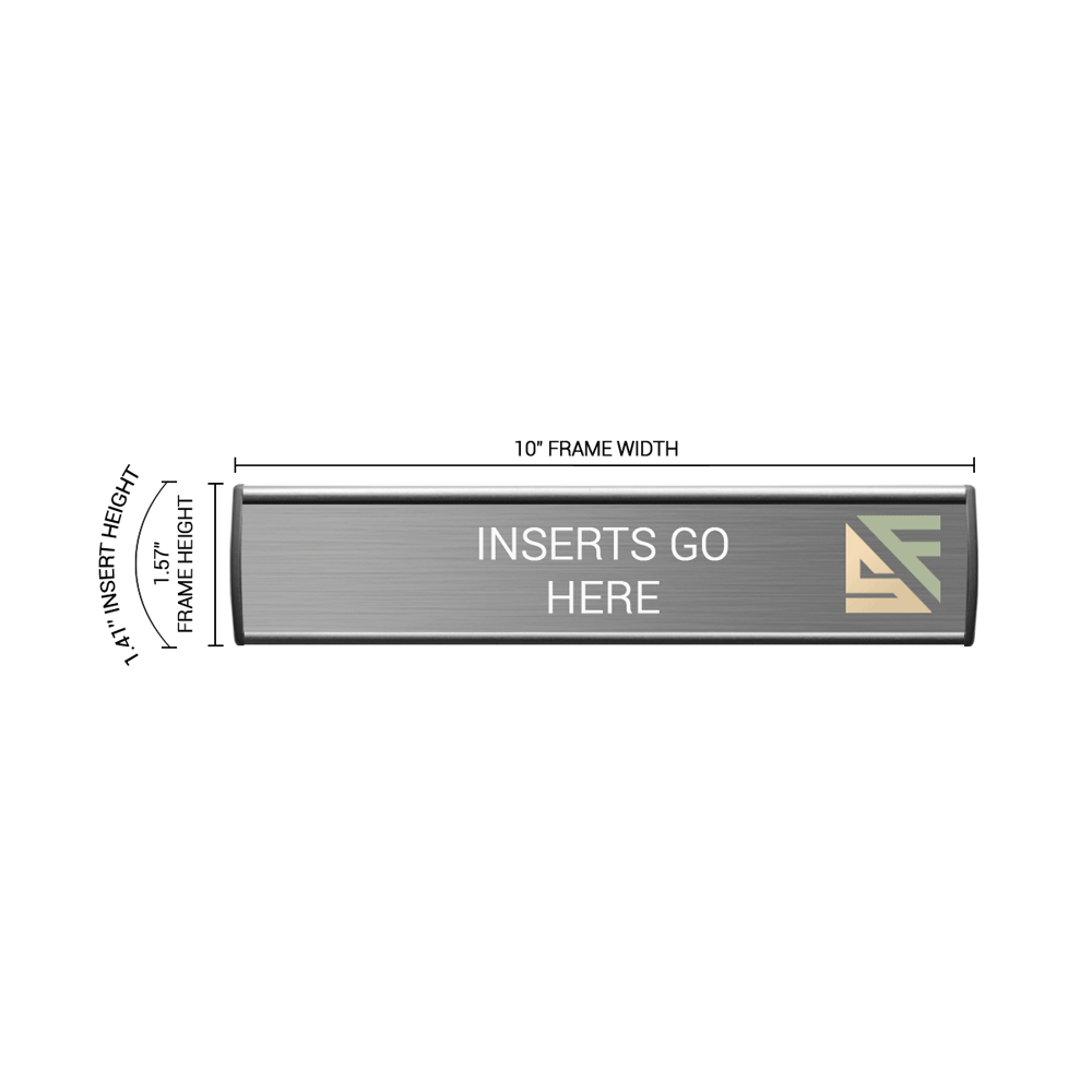 """Office Sign - 1.5""""H x 10""""W - WFL74"""