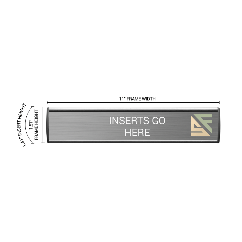 """Office Sign - 1.5""""H x 11""""W - WFL75"""