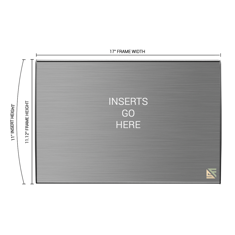 """Office Sign - 11""""H x 17""""W - WFL81"""