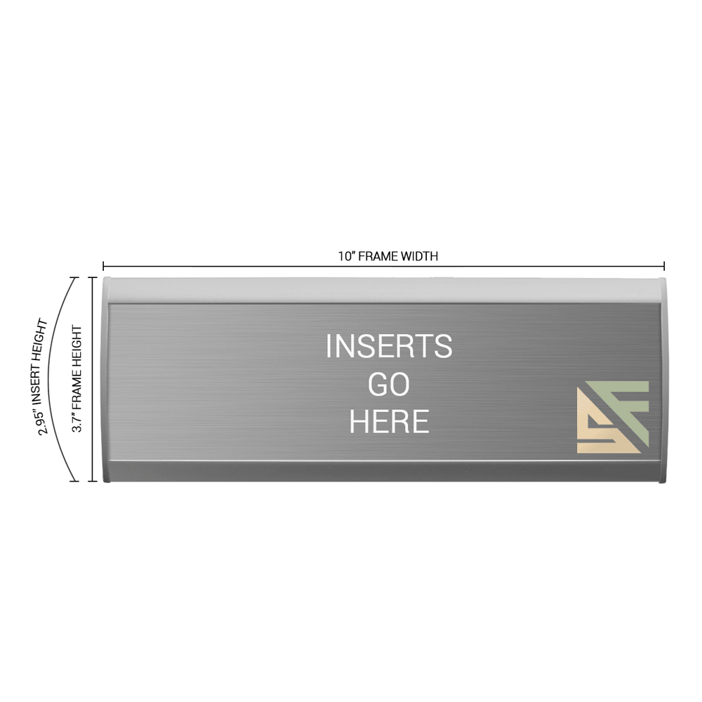 """Office Sign - 3.75""""H x 10""""W - WFNL12"""