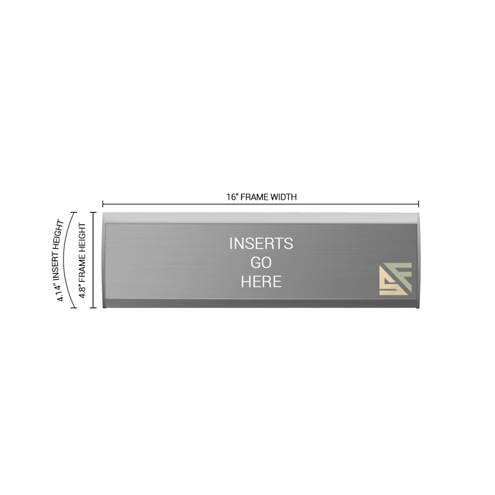 """Office Sign - 4.75""""H x 16""""W - WFNL21"""