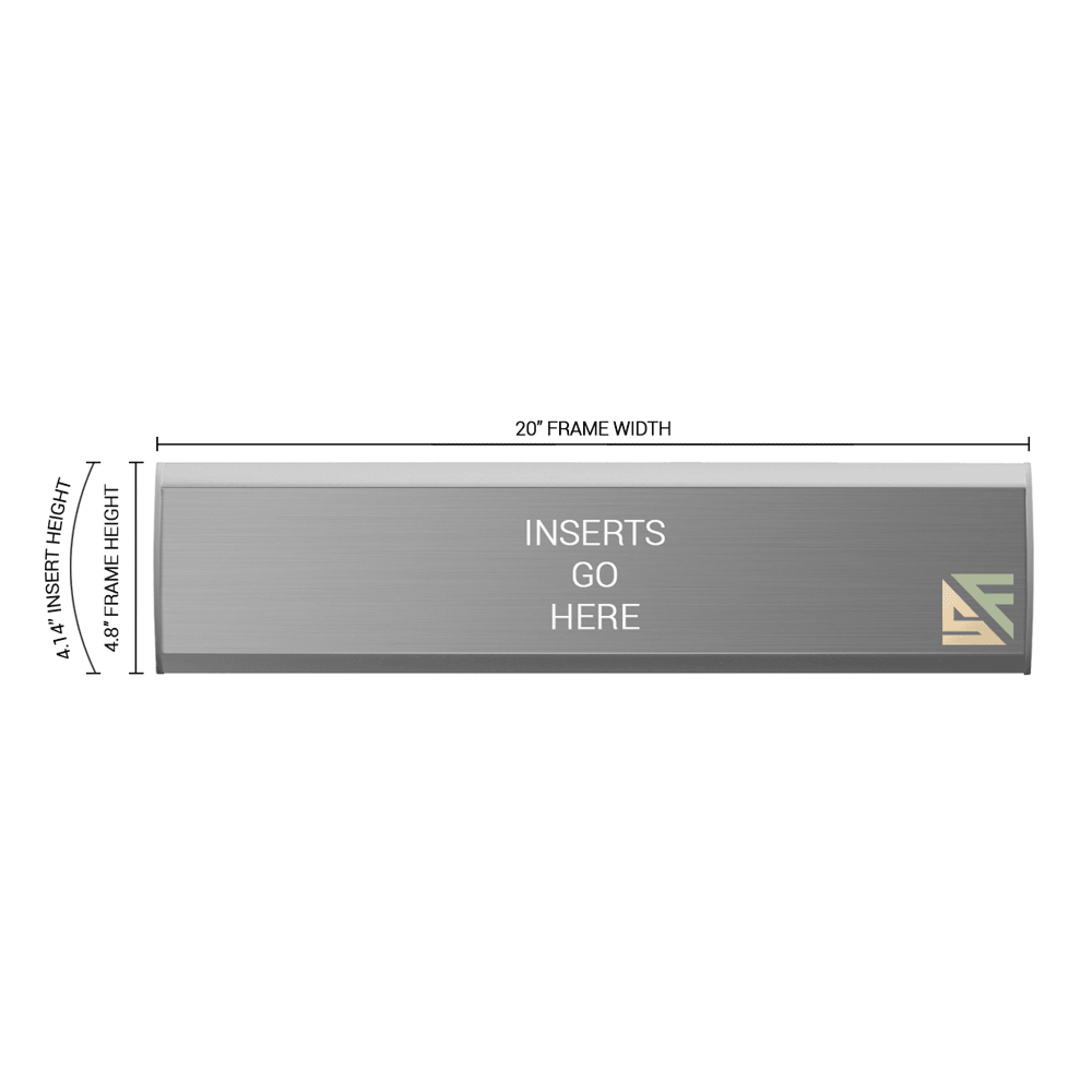 """Office Sign - 4.75""""H x 20""""W - WFNL23"""