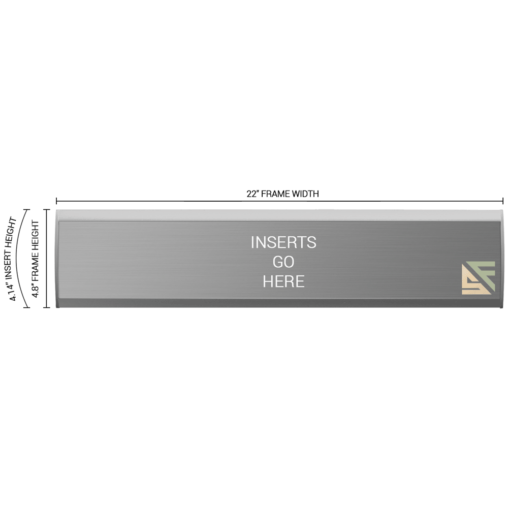 """Office Sign - 4.75""""H x 22""""W - WFNL24"""