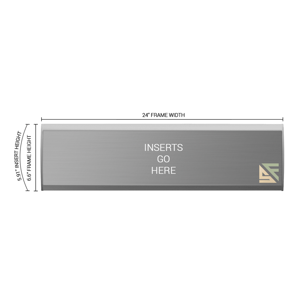"""Office Sign - 6.5""""H x 24""""W - WFNL36"""