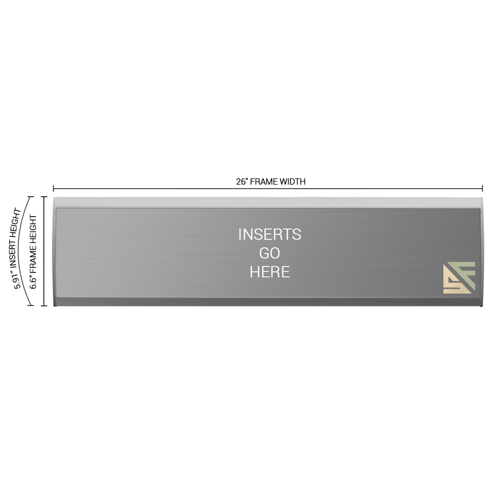 """Office Sign - 6.5""""H x 26""""W - WFNL37"""