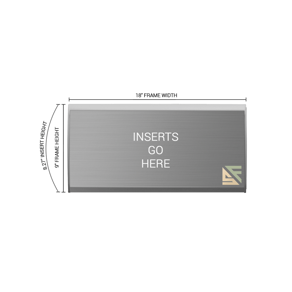 """Office Sign - 9""""H x 18""""W - WFNL46"""