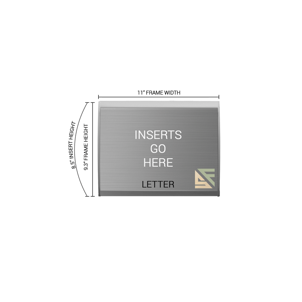 """Table Sign - 9.25""""H x 11""""W - TN52"""