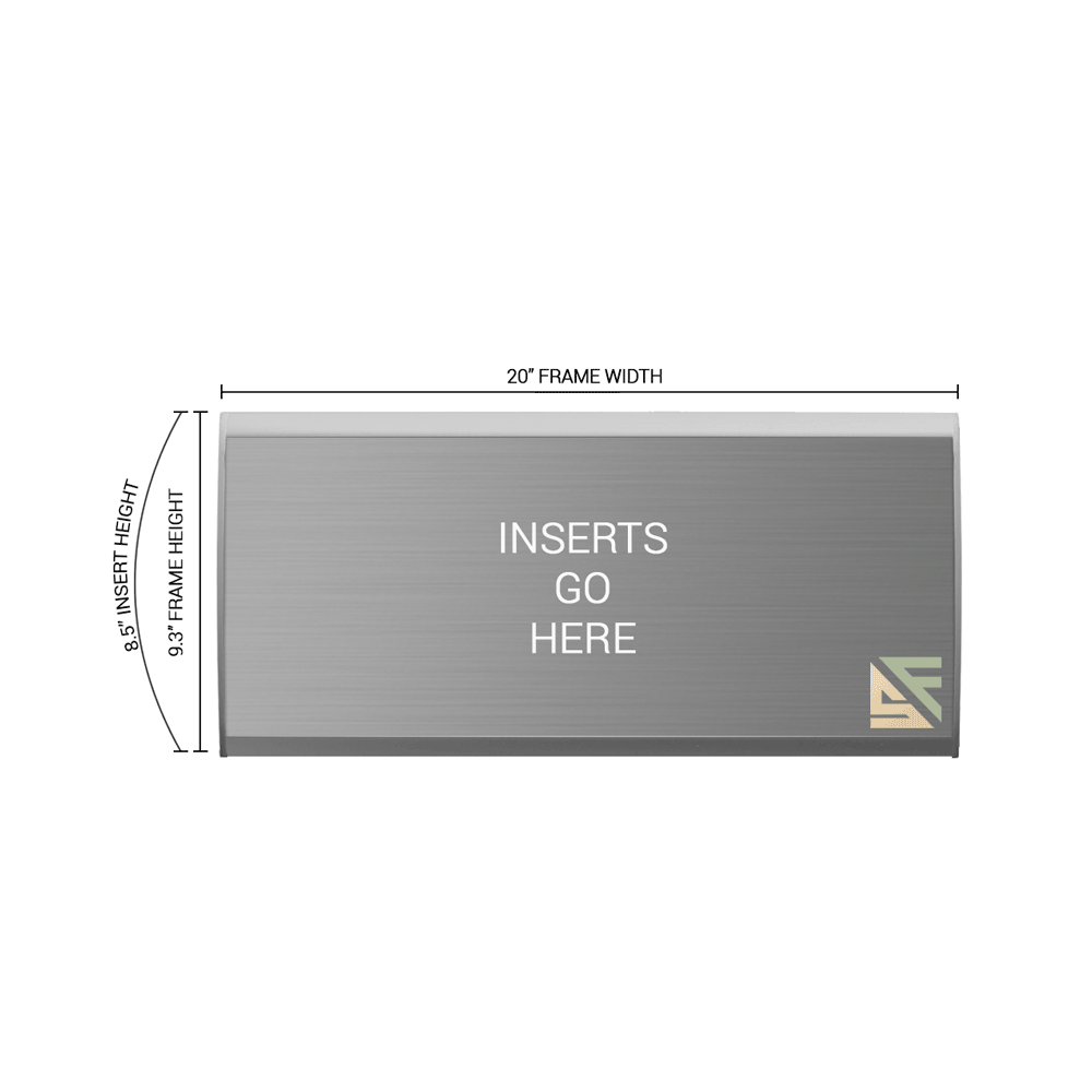 """Office Sign - 9.25""""H x 20""""W - WFNL53"""
