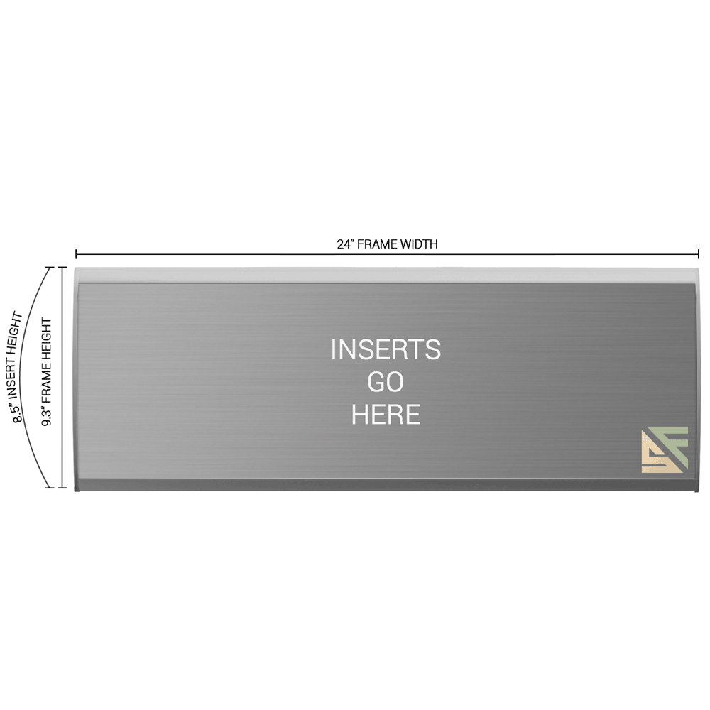 """Office Sign - 9.25""""H x 24""""W - WFNL54"""