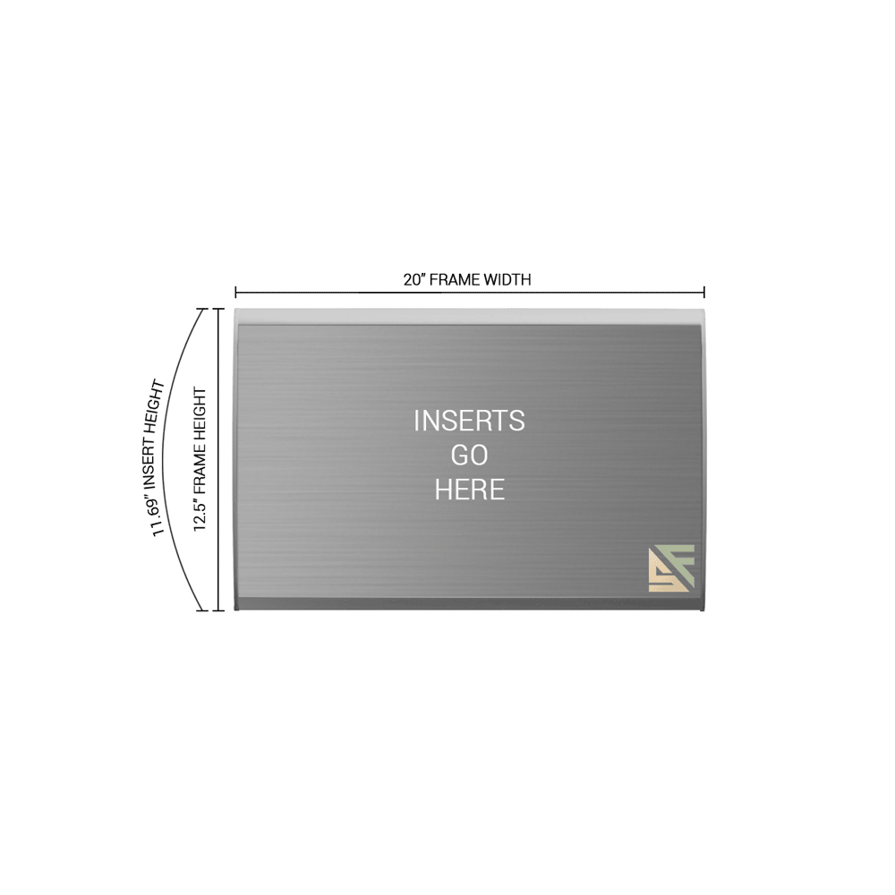 """Office Sign - 12.5""""H x 20""""W - WFNL57"""