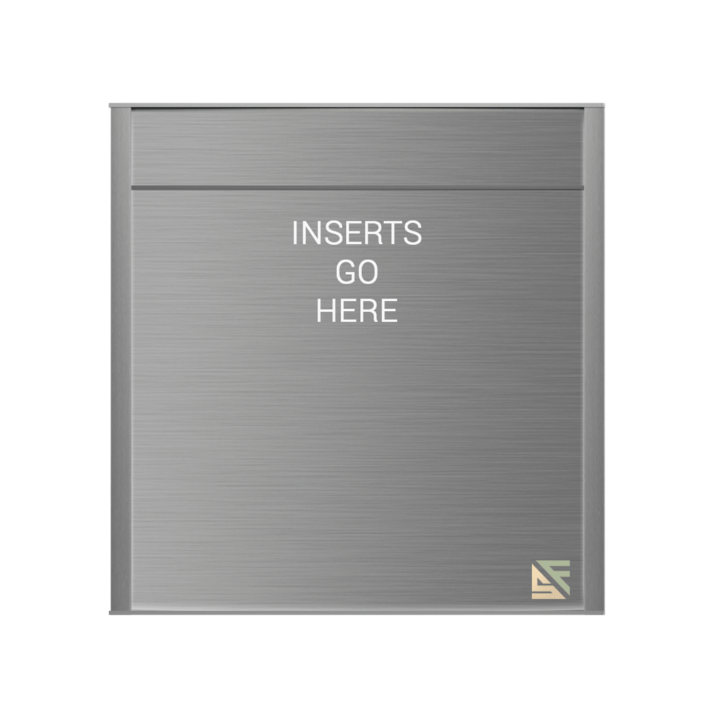 """Office Sign - 14.5""""H x 12.5""""W (2.25"""" Top) - WFNP101"""