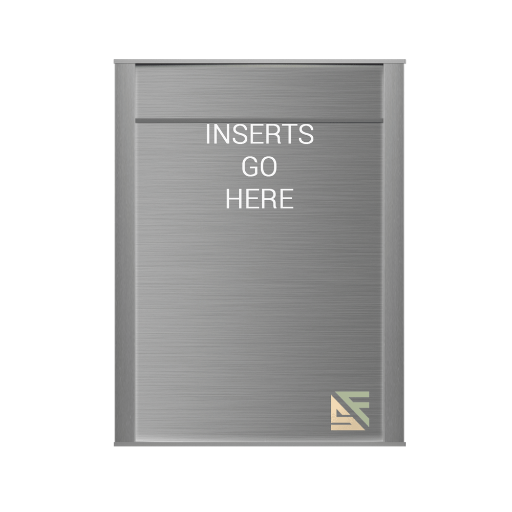"""Office Sign - 10""""H x 6.75""""W (1.5"""" Top) - WFNP155"""