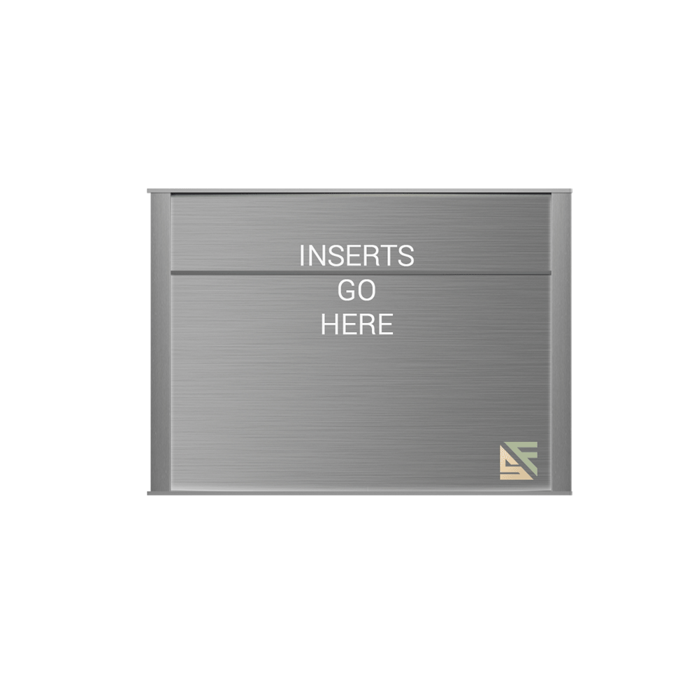 """Office Sign - 8""""H x 11.5""""W (2"""" Top) - WFNP161"""